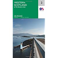 OS Road Map 2 Western Scotland & the Western Isles