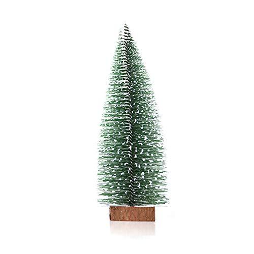 Maxte Small Mini Christmas Tree Office Desktop Decoration Christmas Ornaments Pine Tree