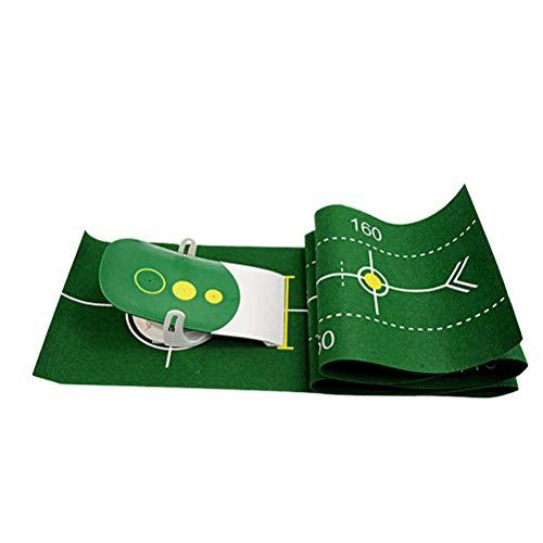 TiKiNi Juego De Entrenamiento De Golf Para Entrenamiento De Golf Portátil Alfombrilla De Entrenamiento Para Detección De Columpios Mini Golf Práctica De Entrenamiento Regalo Para Principiantes