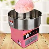 Youwise Máquina Profesional de algodón de azúcar con cajón + Cuenco Ø52cm 1300Watt