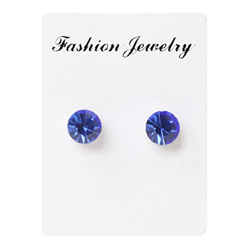 YEZININHAO 1 Pair Weight Loss Earrings Healthy Stimulating Acupoints Stud Magnetic Therapy
