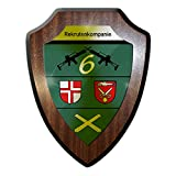 Wappenschild Rekrutenkompanie 6 Wappen Kompanie Gr&ausbildung Stetten #16021