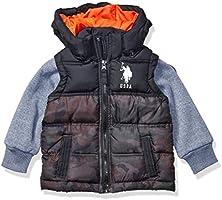 US Polo Association - chamarra de burbujas para niños (más estilos disponibles)