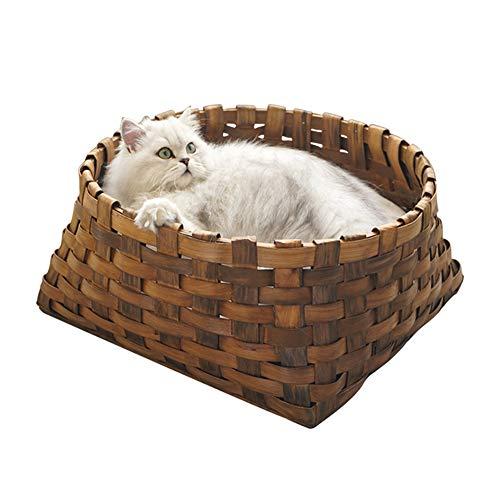 TIANPIN kat nest huisdier nest vier seizoenen universele koele ademende kat huis kat huis kat nest kat benodigdheden