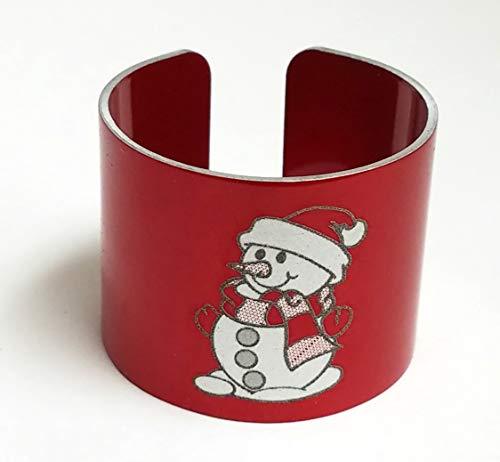 National Band & Tag Holiday, Christmas, and Hanukkah Themed Napkin Rings (Pack of 8)