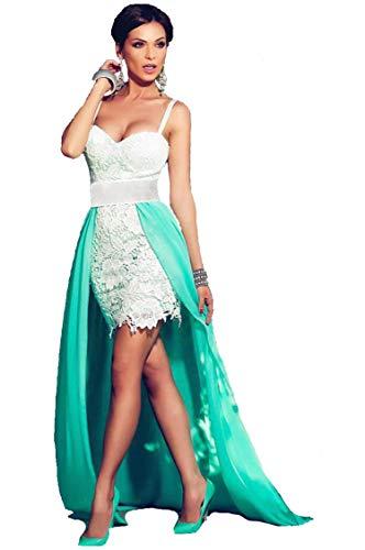 Vestiti Donna - Abiti Lunghi Ragazza - Fashion Moderno da Discoteca Party Sera Ballo O Festa - Eleganti per Sposa Cerimonia O D