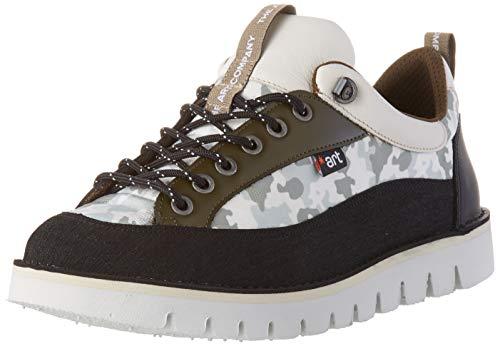 Art Ontario, Zapatos de Cordones Brogue Hombre, Multicolor (Camuflaje Camuflaje), 40 EU