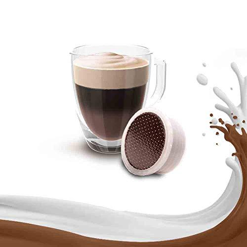 Caffe Kickkick Mocaccino 50 Capsule Compatibili Lavazza Espresso Point in Cialde