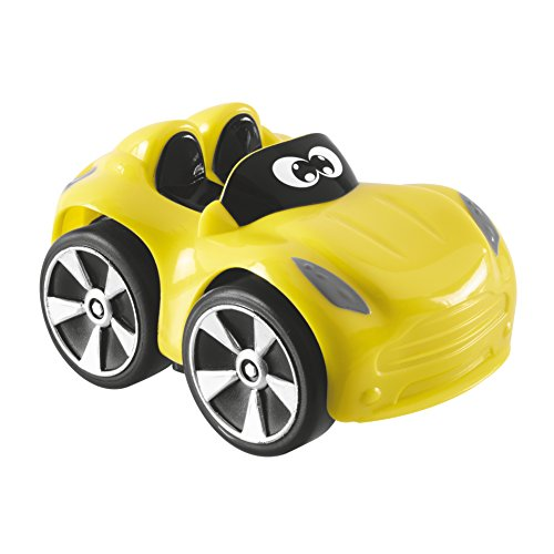 Chicco 00009360000000 Mini voitures de course turbo Touch Yuri, jaune