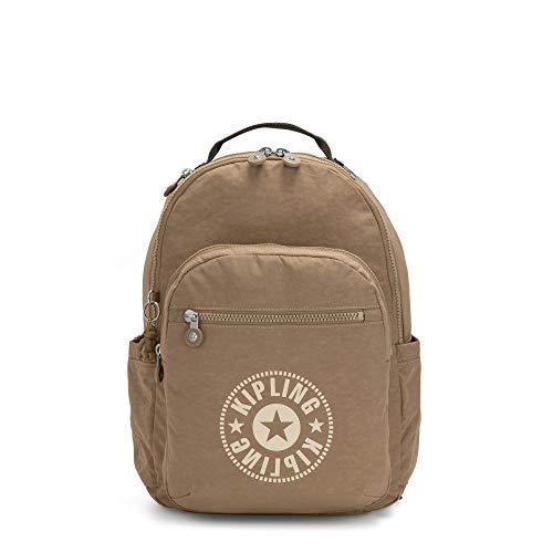 Best Prices! Kipling Seoul Large 15 Laptop Backpack Sand Sp