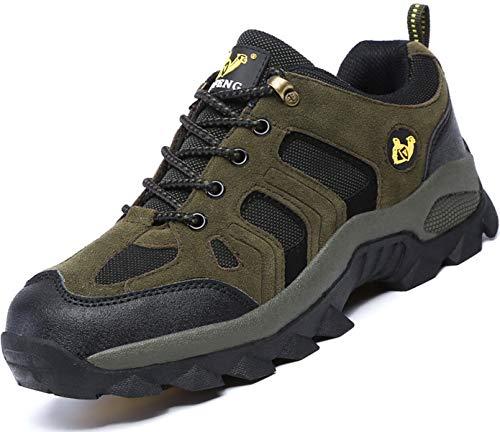 Brfash Scarpe da Trekking Uomo Arrampicata Scarponcini da Escursionismo Sportive All'aperto Impermeabili Scarponi da Montagna Sneakers da Uomo