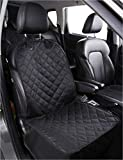 Alfheim Nonslip Rubber Backing Front Seat Cover with Anchor and an Adjustable Pet