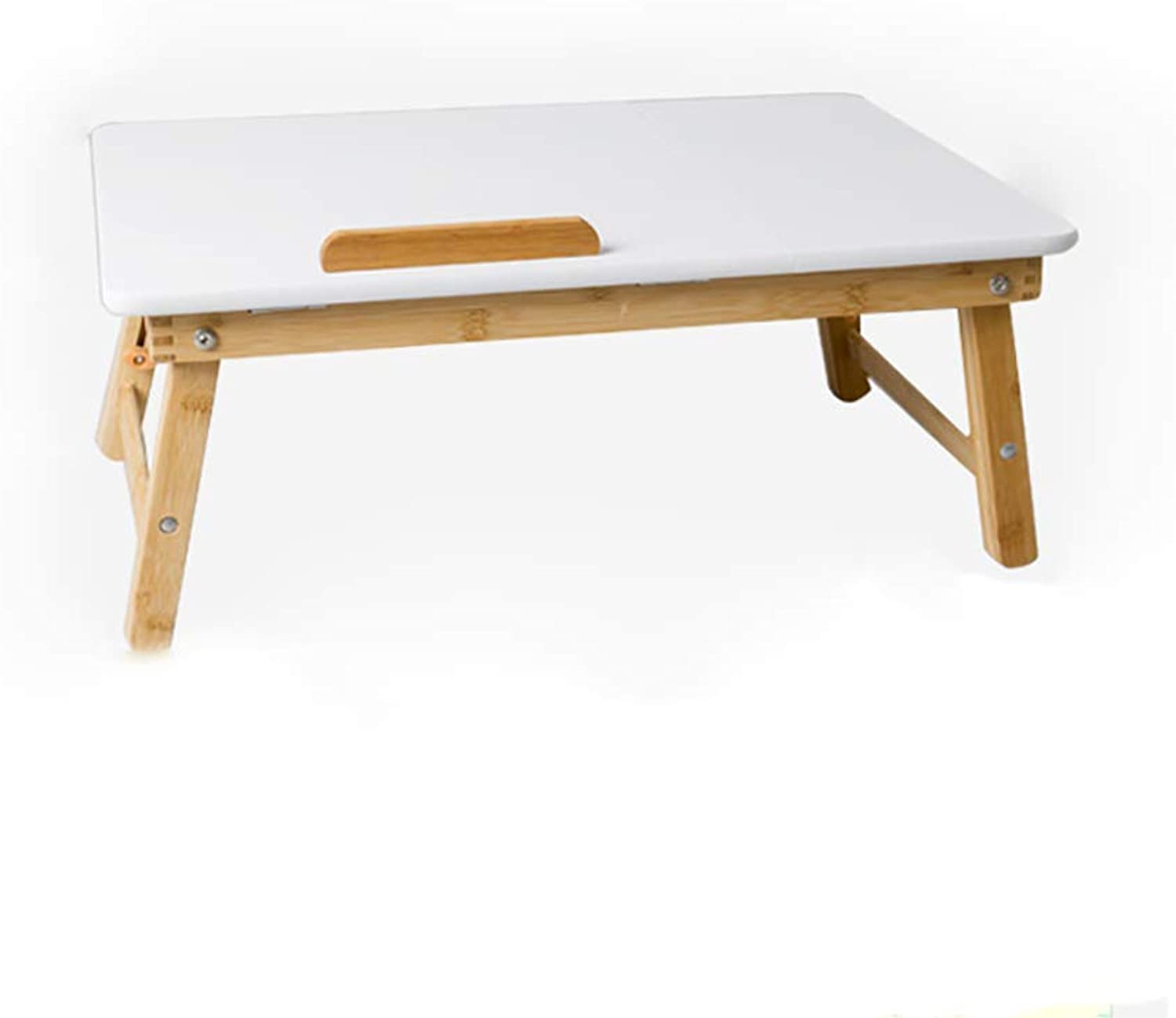 Hai Yan Portable Folding Table Folding Table - Bed Small Table Laptop Table Learning Mini Table Desk Lazy Girl Student Folding Lift Table (Size   70x34x31cm)