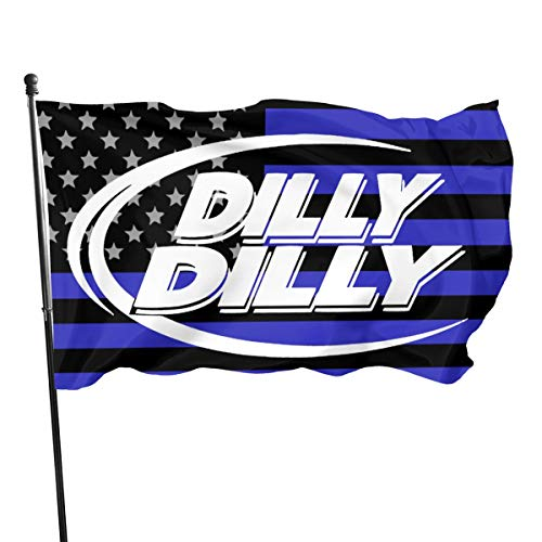 BQCHMBO Dilly Dilly Flag - Brass Grommets Vivid Color 3x5 Foot Flag for Home Decorative,Yard Decorative,Outdoor Decorative,Holiday Decor,Farm Decoration,Anniversary Decoration