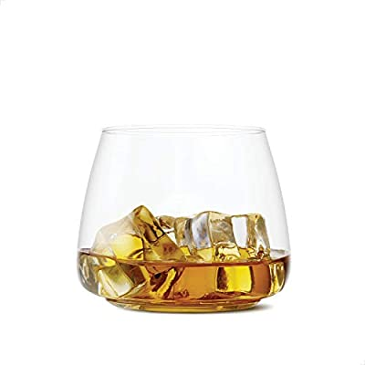 TOSSWARE POP 12oz Rocks SET OF 12, Recyclable, Unbreakable & Crystal Clear Plastic Cocktail Glasses