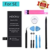 HDCKU Battery Replacement Kit Compatible for iPhone SE A1723,A1662,A1724 Battery...