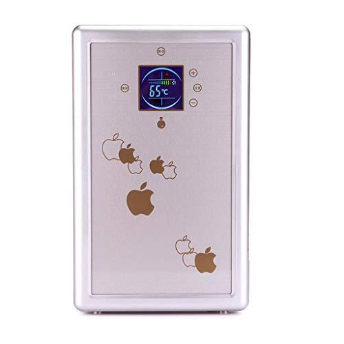 Jiongzhuo Mini-koelkast, 16 liter, voor in de auto, met dubbel gebruiksdoel, kleine koelkast, slaapzaal, auto, kleine verwarming en koelbox, lcd-display, dubbele koeltype, kan worden verwarmd