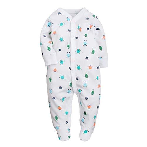 YBINGA Pijama para recién nacido, de algodón, de unicornio, para niños, mono...