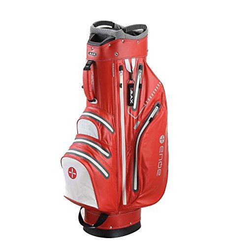 BIG MAX I-Dry Aqua Sport Golf Cartbag - 100% Wasserdichte Golftasche 2016 (Rot/Weiß)