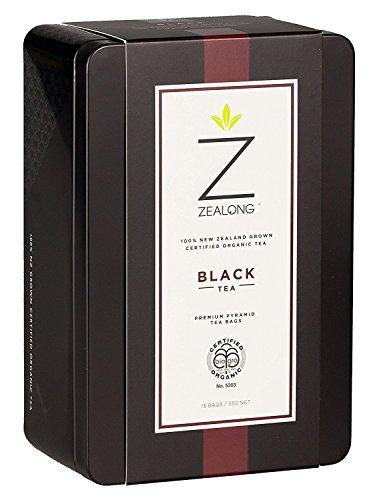 Organic Black Tea, Awarded Best Single Serve Black Tea at the 2017 Global Tea Championships. Biodegradable Premium All-Natural Pyramid Tea Bags by Zealong Creators of The World's Purest Tea