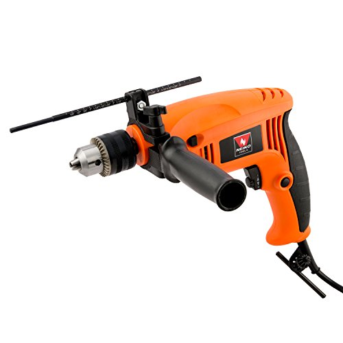 Neiko 10506A 1/2' Reversible Hammer Drill, 4.2 Amps | Metal, Wood, Masonry | Variable Speed