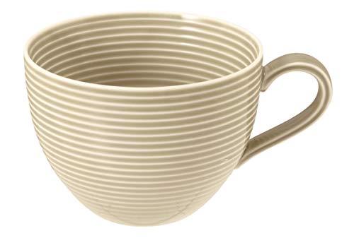 Van Well - Taza de café con leche (0,35 L) BEAT - Juego de 3 platos hondos