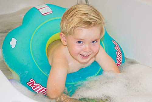 Milidom® Flotador para bañera de bebé, asiento para niños pequeños, de 6 meses a 3 años
