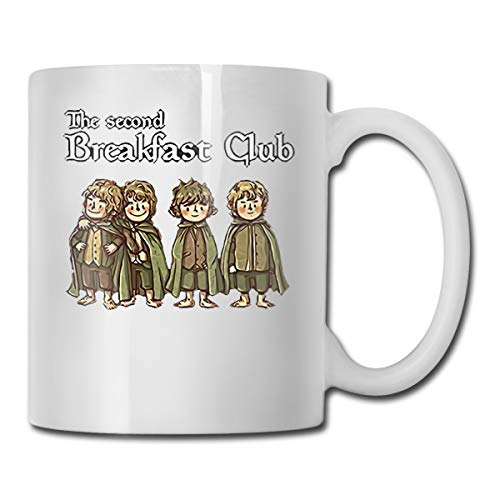 The Second Breakfast Club Coffee Mug Ceramic Cup 11 Oz Gift For Men Women Who Love Mugs