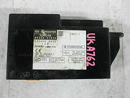 REUSED PARTS Network Gateway Right Hand Price reduction Minneapolis Mall 8930 Fits 07 Dash Avalon
