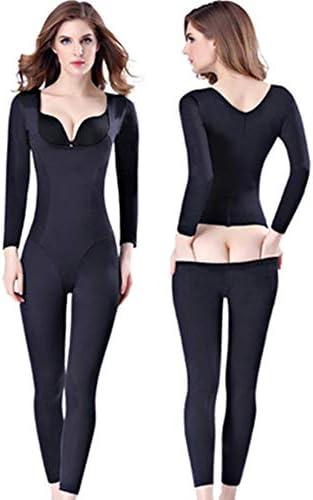 Ninery Ave One Piece Full Body Shaper Seamless Bra Lift Shapewear Long Sleeve Bodysuits product image