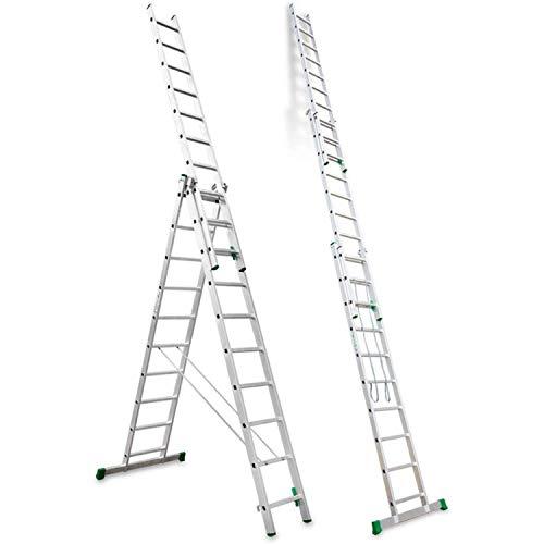 Escalibur | ES.TRIPLE | Escalera de Aluminio | Escalera 10 P