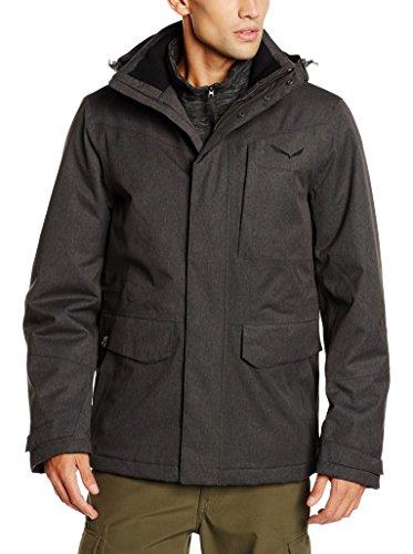 Salewa Cardigan Fanes Tirol Wool Jacket pour Homme XL Magnet/Bkout