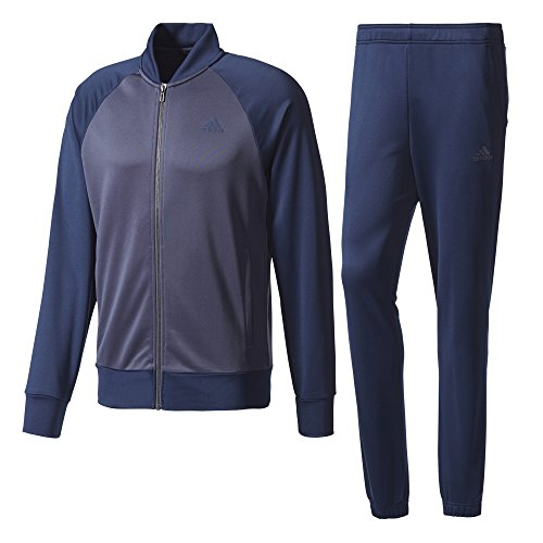 adidas Herren Cosy Trainingsanzug, Collegiate Navy/Trace Blue, 6