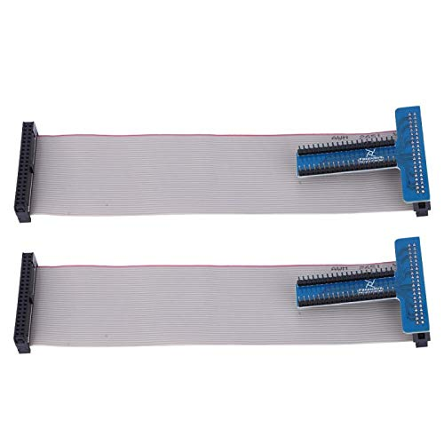2 piezas de placa de expansión GPIO azul tipo T adaptador GPIO apto para Raspberry Pi 1B/2B/3B +