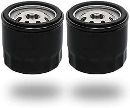 HOODELL 2 Pack 12 050 01-S Oil Filter Fits Kohler Engine Lawn Mower, Troy Bilt Bronco 12 050 01, Professional 1205001-S 12 050 01-S1 Oil Filter