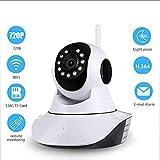 XXF Monitor de bebé, Sistema de Seguridad 720P WiFi vigilancia sin Hilos del Monitor de la cámara IP para la Seguridad casera con la visión Nocturna de detección de Movimiento