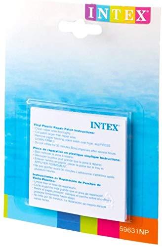 Kit 6 patchs réparation Intex WETSET matelas et piscine Intex 59631NP