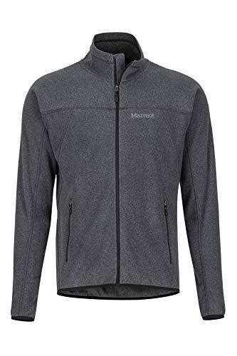 Marmot Herren Fleecejacke, Outdoorjacke, Atmungsaktiv Pisgah Fleece Jacket, Black, XL, 81810