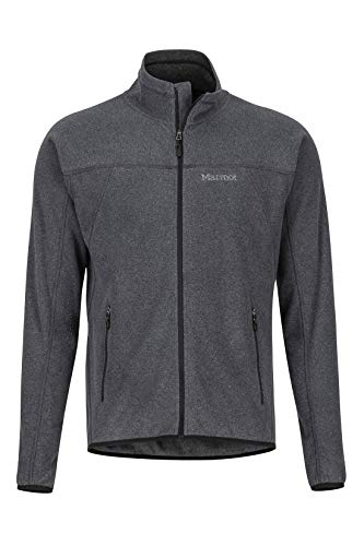 Marmot Herren Pisgah Fleece Jacket Fleecejacke, Outdoorjacke, Atmungsaktiv, Black, M