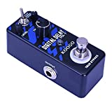 Koogo Digital Delay Echo Effect Pedal for Guitar Bass with 3 Modes Clear