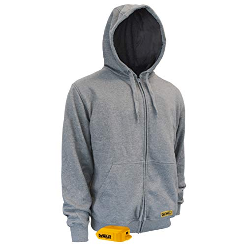 Unisex Heated French Terry Cotton Hoodie without Battery