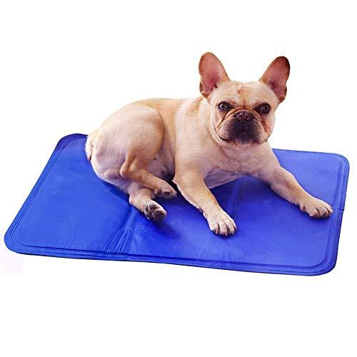 Cama de perro zhhhk Almohadilla for hielo for mascotas, colchoneta for enfriar perros Antibrazo for refrescarse en verano Almohadilla for hielo sólida for mascotas Ideal for perros, gatos, for mantene