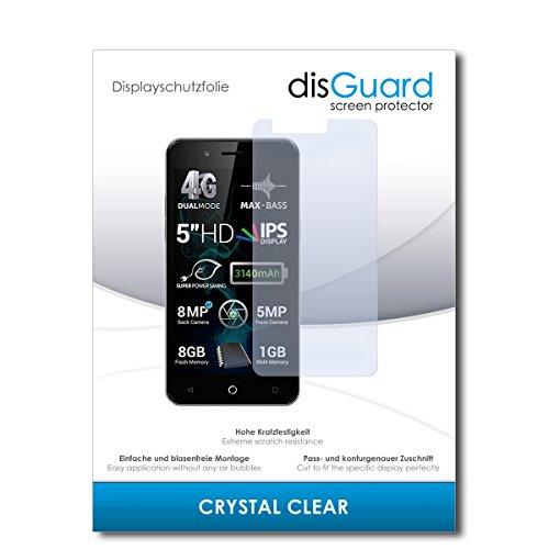 disGuard® Bildschirmschutzfolie [Crystal Clear] kompatibel mit Allview P6 Pro [4 Stück] Kristallklar, Transparent, Unsichtbar, Extrem Kratzfest, Anti-Fingerabdruck - Panzerglas Folie, Schutzfolie