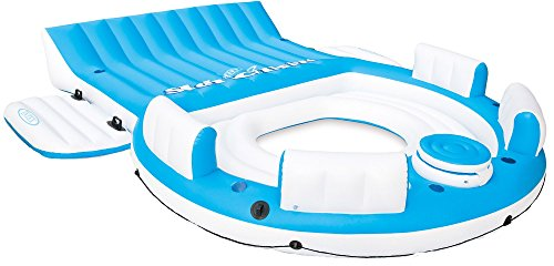 Intex Splash 'N Chill, Inflatable Relaxation Island, 145'X125'X20'