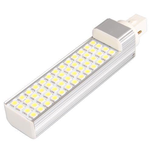G24 LAMPADA LAMPADINA 52 LED SMD 5050 BIANCO 6500K 8W
