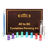 [Ship From CA,US] Baisidai 12in1 Professional Eyelash Eye Lashes Eyelash Curler Extra Longer Glue Perming kit