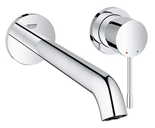 Grohe Essence - Grifo de lavabo con sistema de montaje en pared,...
