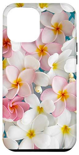 iPhone 12 Pro Max Plumeria Flower Pretty Garden Hawaii Case