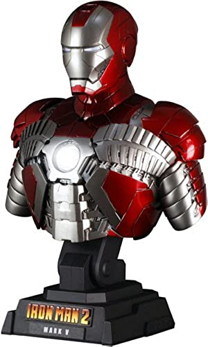 Hot Toys Bust - 1 4 Scale Collectible  Iron Man 2 - Mark 5
