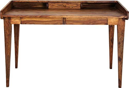 Kare Design – Bureau authentico Lady Secrétaire, Bois, Marron, 118 x 70 cm